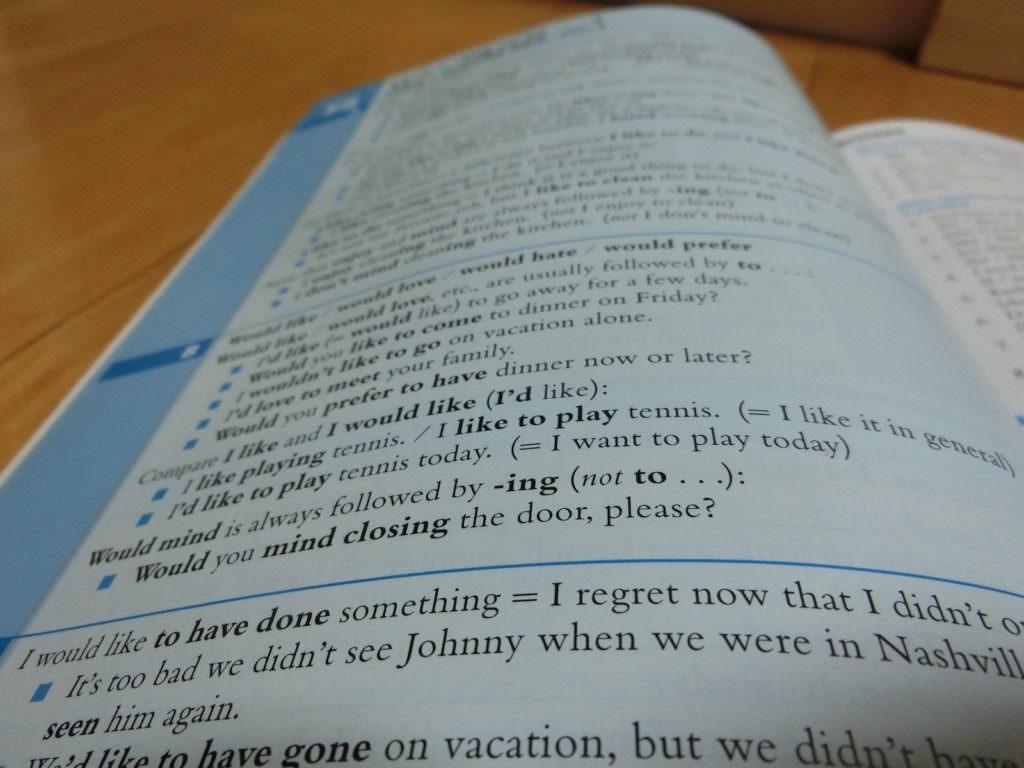 Studying, studying, studying.