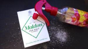 スプレーと塩で風邪予防