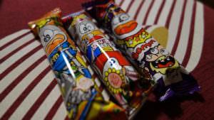 うまい棒 (umaiboo), Japanese children's snacks
