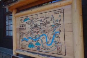 奥多摩の分かりやすい地図