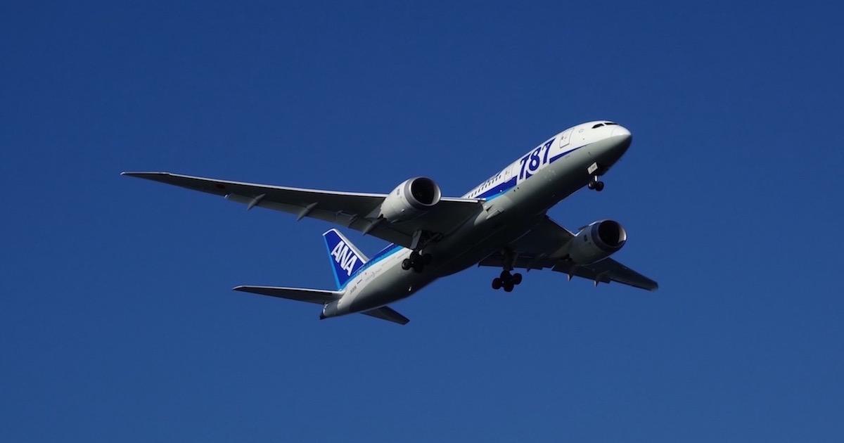 ANAのかっこいい飛行機