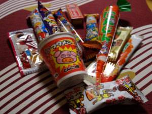 Japanese children's snacks, dagashi