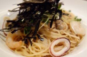 Seafood spaghetti of Tapas&Tapas