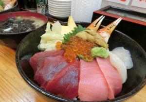 Kaisendon at Tsukiji, Tokyo