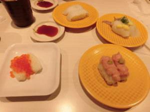 Conveyor belt sushi in Japan