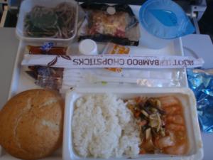 フィンランド航空、エコノミー機内食
