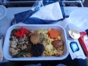 finnair、エコノミーの機内食