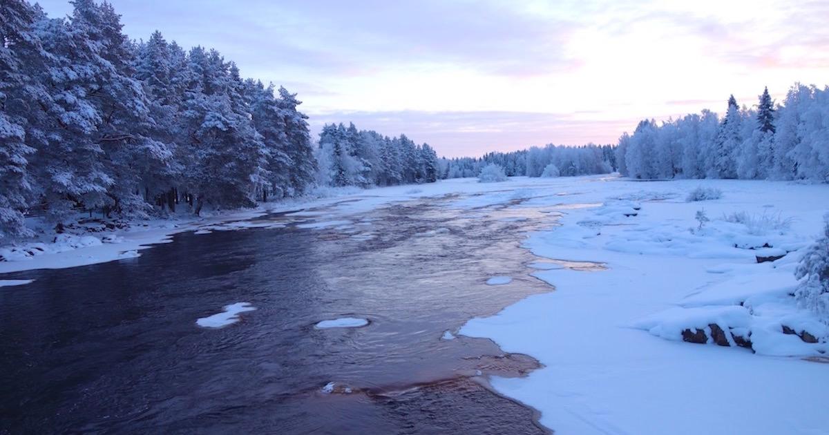 フィンランドの冬の絶景。極寒の地