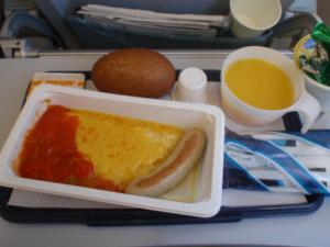 フィンランド航空のおいしい朝食