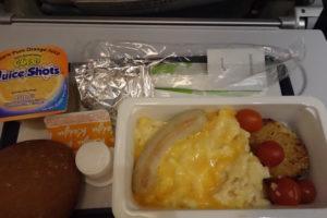美味しい機内食