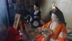 Traditional cute hina dolls
