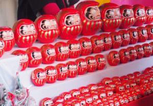 Daruma dolls in Asakusa