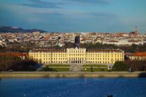 ウィーンの綺麗な景色