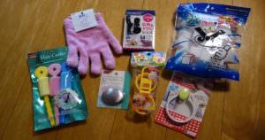 Japanese 100yen shop has very useful stuffs