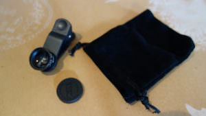 Smartphone lens found from Japanese 100 yen shop, Can Do