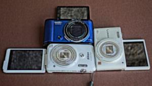 話題のセルフィーカメラ