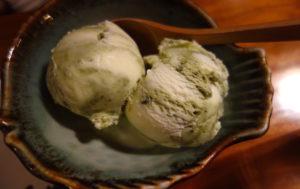 美味しい抹茶アイスクリーム