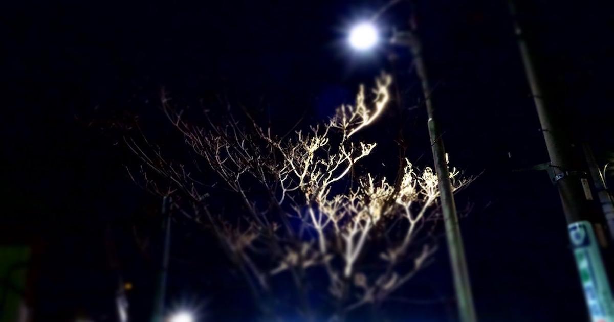 夜はとても怖い危険な地域