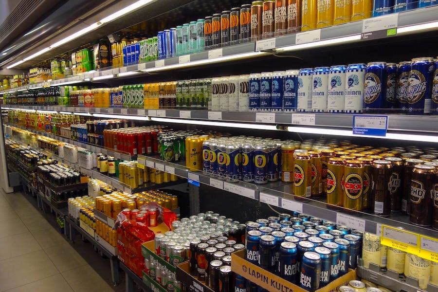 海外での豊富なお酒の種類