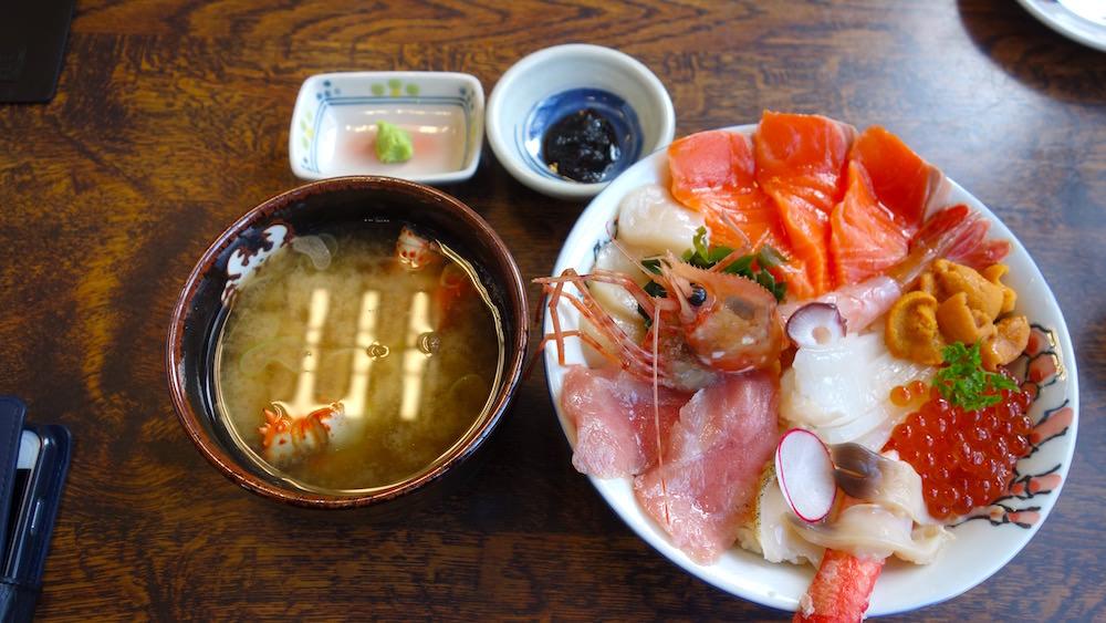 北のグルメ亭の絶品海鮮丼