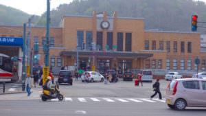 小樽の綺麗な駅前