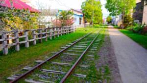 小樽の歩ける線路