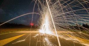 花火大会で花火が爆発。恐ろしい事故