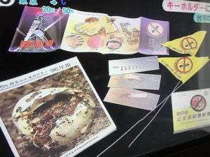 台湾では色々なヒアリグッズが販売されている