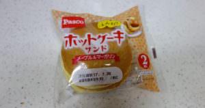 パスコ、ホットケーキサンドのメープルアンドマーガリン