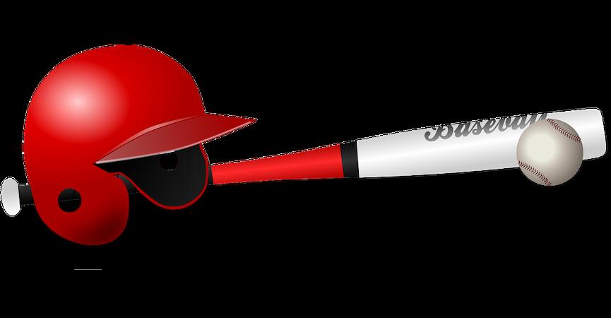 メジャーリーグベースボール、プロ野球、高校野球や少年、小学生野球で必須道具や防具