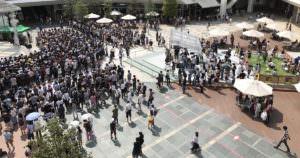 川崎ラゾーナで倉木麻衣のイベントが行われた。