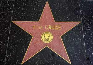 スターのトム・クルーズ