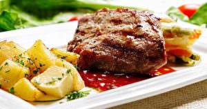 ステーキの焼き加減は日本でも聞かれますね!