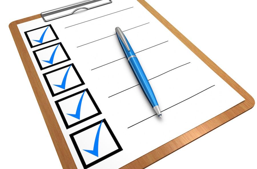 不安や心配を一気に解消するチェックリスト