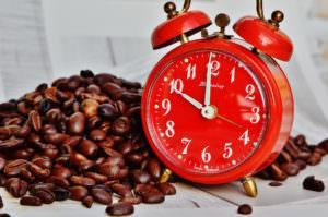 コーヒーで昼寝の時間を20分に制限