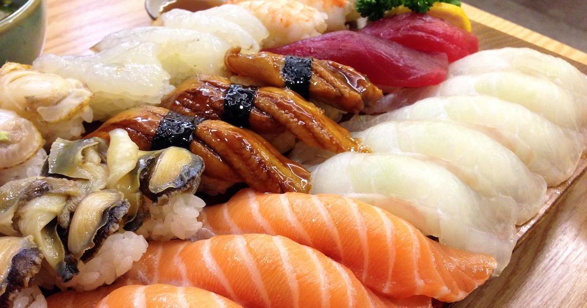 海外での大人気ソウルフードお寿司