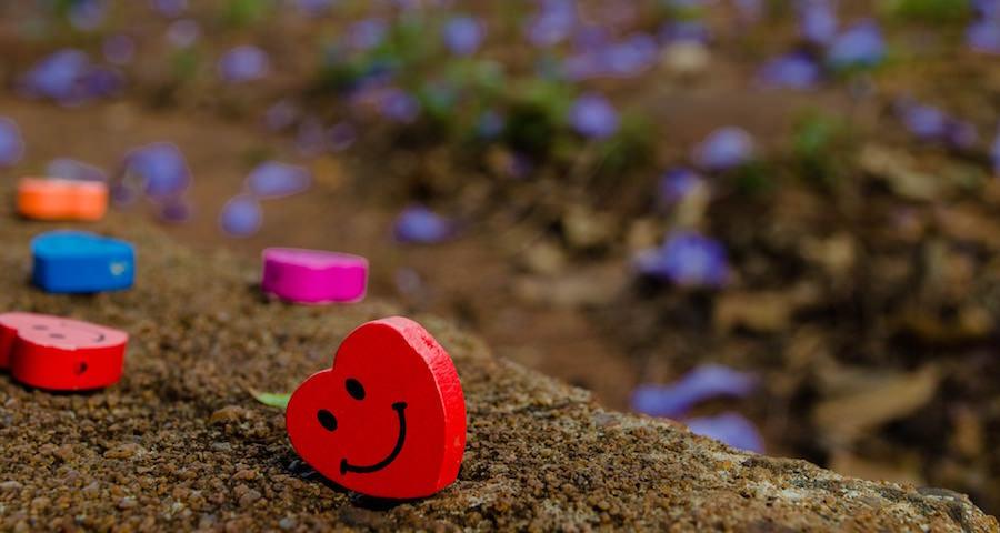 いつでも笑顔でいることは幸せの証