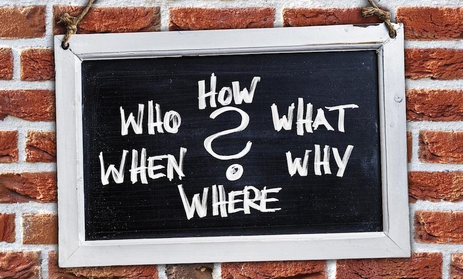 何に対しても疑問を持つことが大切。